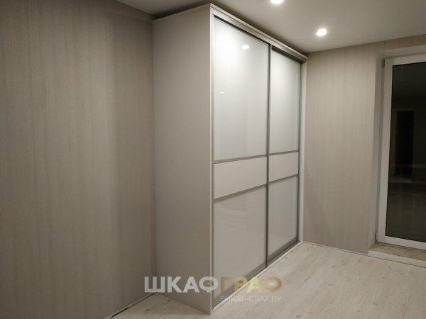 Шкаф-купе в гостиную с лакобелем Graf № 009 1