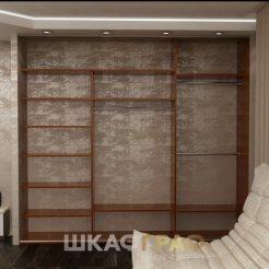 Шкаф-купе в гостиную с лакобелем Graf № 43 5