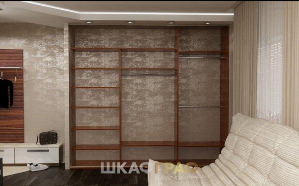 Шкаф-купе в гостиную с лакобелем Graf № 43 3