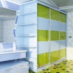 Шкаф-купе в спальню с боковой стенкой Graf № 45 5