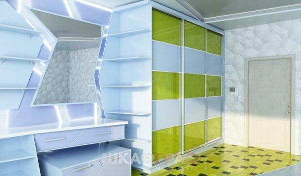 Шкаф-купе в спальню с боковой стенкой Graf № 45 3