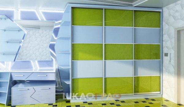 Шкаф-купе в спальню с боковой стенкой Graf № 45 1