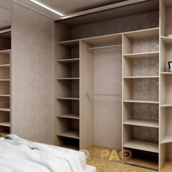 Шкаф-купе в спальню с боковой стенкой Graf № 59 5