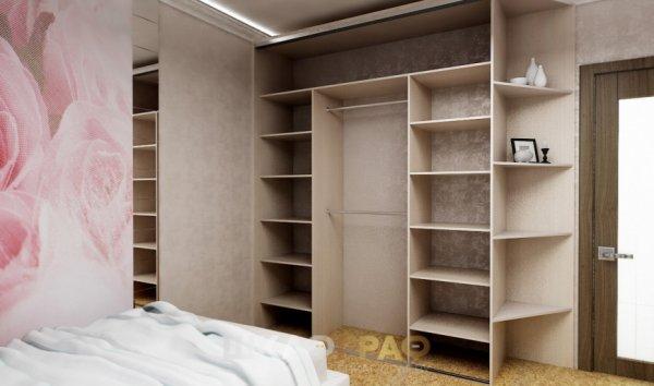 Шкаф-купе в спальню с боковой стенкой Graf № 59 3