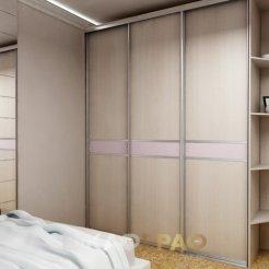 Шкаф-купе в спальню с боковой стенкой Graf № 59 4