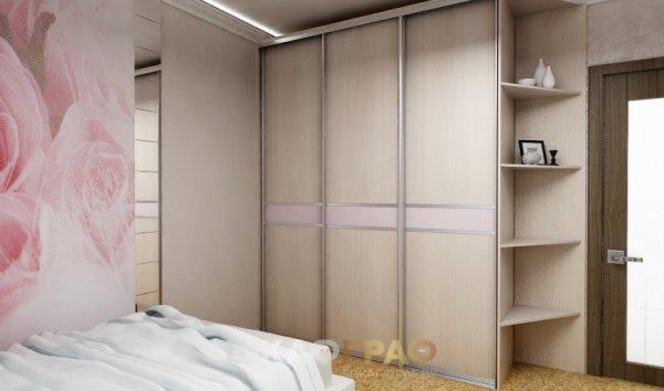 Шкаф-купе в спальню с боковой стенкой Graf № 59 2