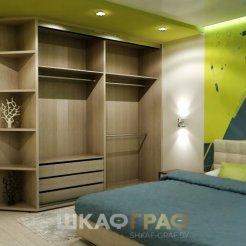 Шкаф-купе в спальню с лакобелем Graf № 105 4