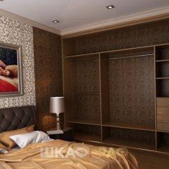 Шкаф-купе в спальню с зеркальными дверями Graf № 61 4