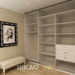 Шкаф-купе в спальню с пескоструйным рисунком Graf № 70 5