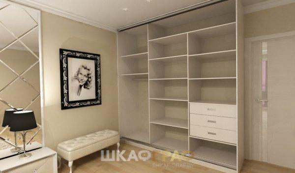 Шкаф-купе в спальню с пескоструйным рисунком Graf № 70 3