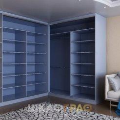 Угловой шкаф-купе в гостиную с фотопечатью Graf № 57 5