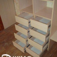 Выдвижные ящики шкафа-купе в спальню