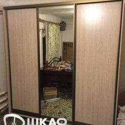 Современный комбинированный шкаф-купе