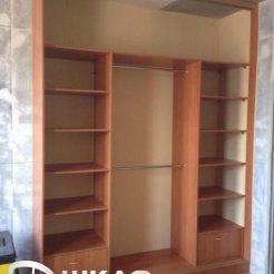 Шкаф-купе для спальни внутри