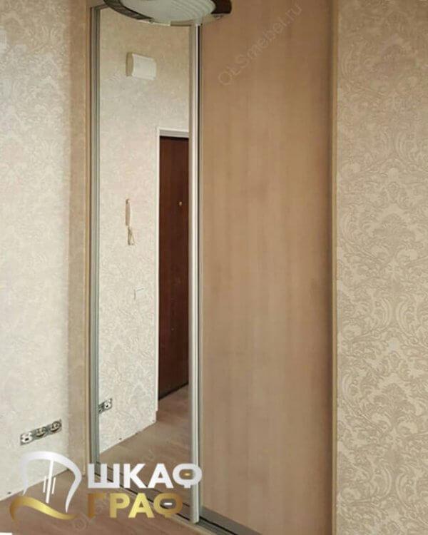 Гардеробная светлая с зеркалом Graf № 124