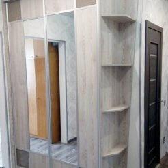 Шкаф-купе с зеркалом в коридор Graf № 253