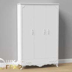 Распашной шкаф в классическом стиле № 14