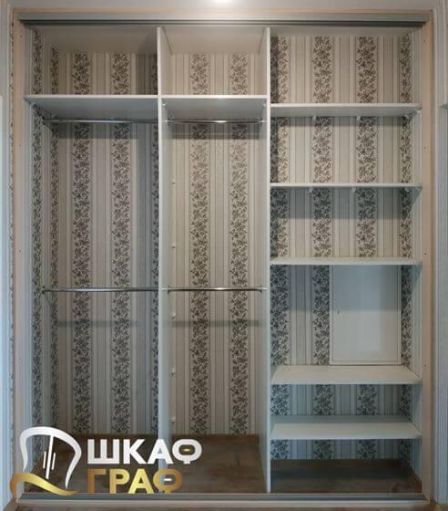Шкаф-купе встроенный в коридор №261