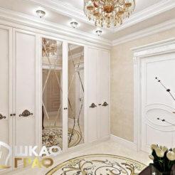 Распашной шкаф в классическом стиле № 21