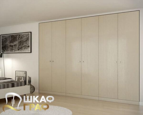 Распашной шкаф в стиле минимализма № 23